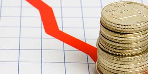 За пять дней денежная база РФ упала на 4%.